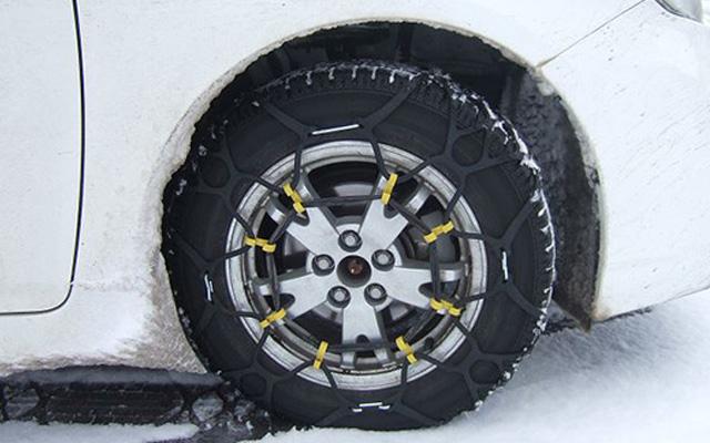 大雪時のタイヤチェーン装着義務化へ