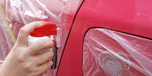 【簡単!車のDIY補修】車に付いた小さな傷を自分で綺麗に直す