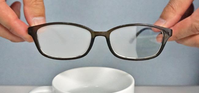 不快なメガネのくもりを解消!